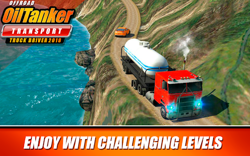Offroad Oil Tanker Transport Truck Driver 2018 MOD (Unlimited Money) 3