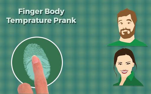 Finger Body Temprature Prank 1.0 screenshots 2