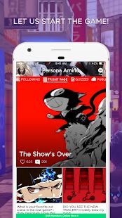 Persona 5 Amino - náhled