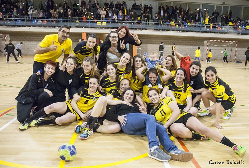 El Sènior femení campió de la Lliga Catalana