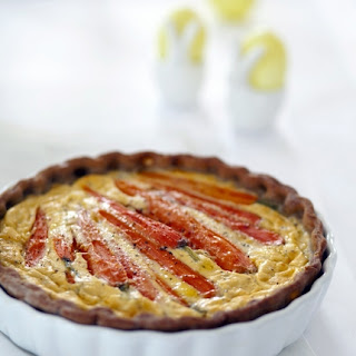 Carrot and Zucchini Quiche