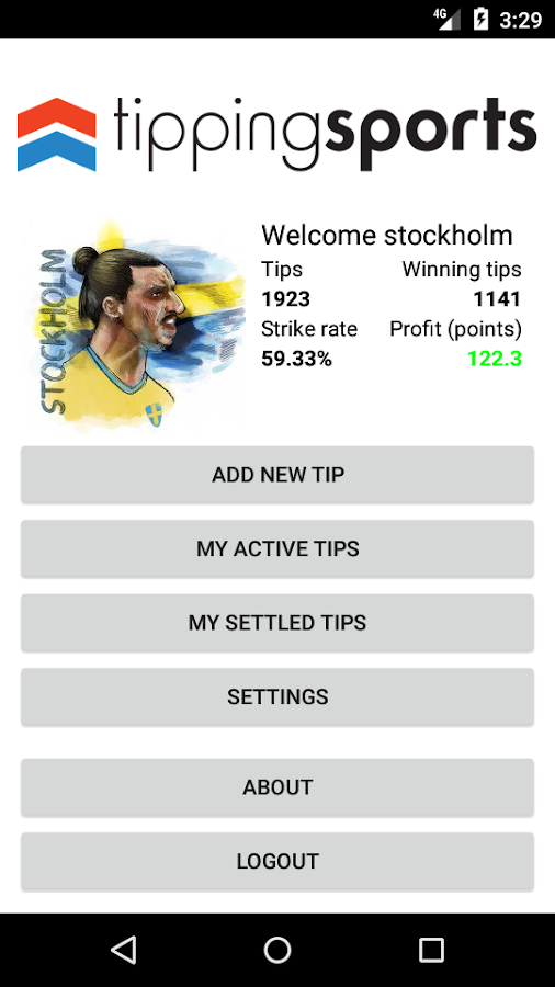 TippingSports- screenshot