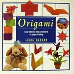 "Photo: Origami - Easy step-by-step creations in paper folding Barker, Linda Smithmark Pub 1993 Hardcover 64 pp 10-1/2"" x 11-1/2"" ISBN 0831715847"