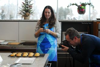 Photo: Emily from Sweet Bella Roos and Gerry from Foodness Gracious made Bacon Cheddar Pinwheels.