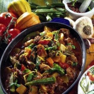 Gemüse-Lammtopf