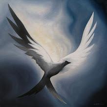 Photo: Sparrow - 24x24 Acrylic on Canvas
