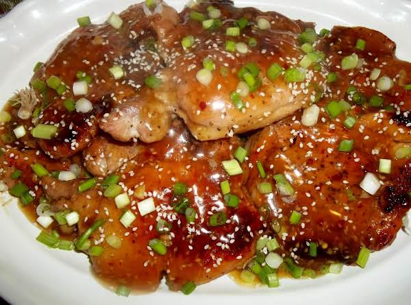 Spicy Sesame Pork Chops