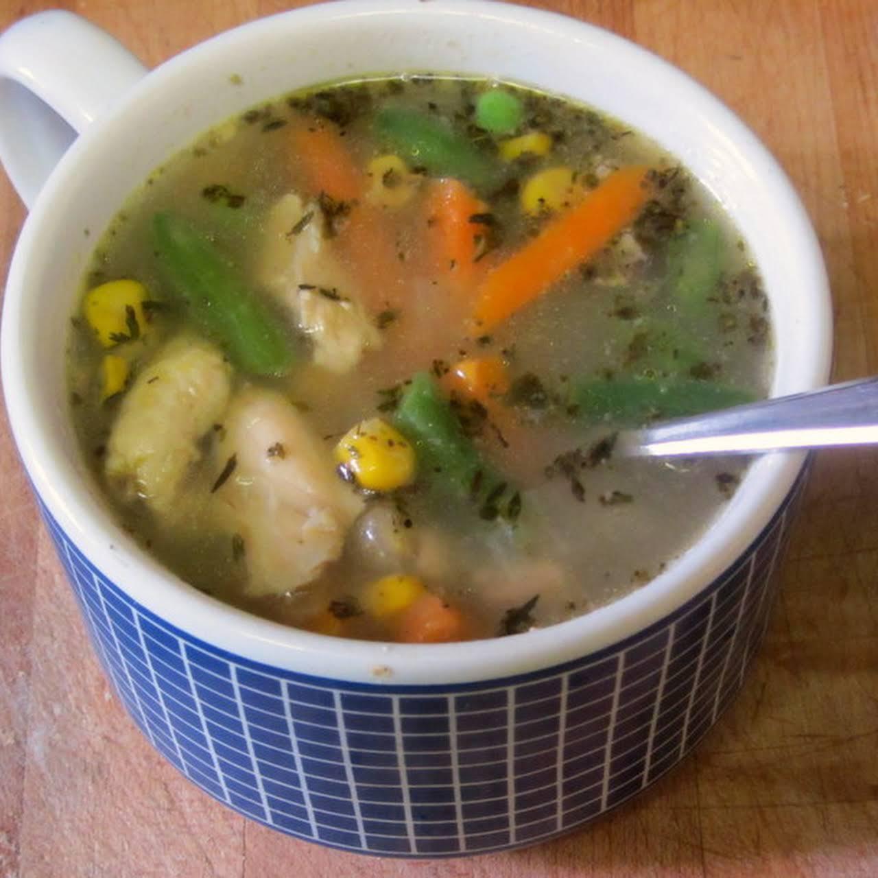 Flu Season Chicken Soup