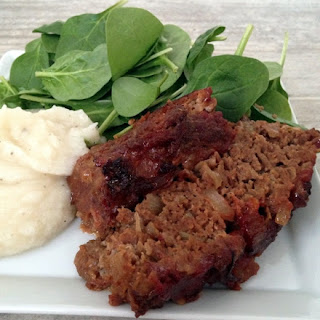 Caramelized Onion Meatloaf