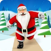 Santa Dude Runner :Christmas