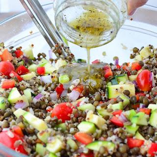 Greek Lentil Salad Recipes