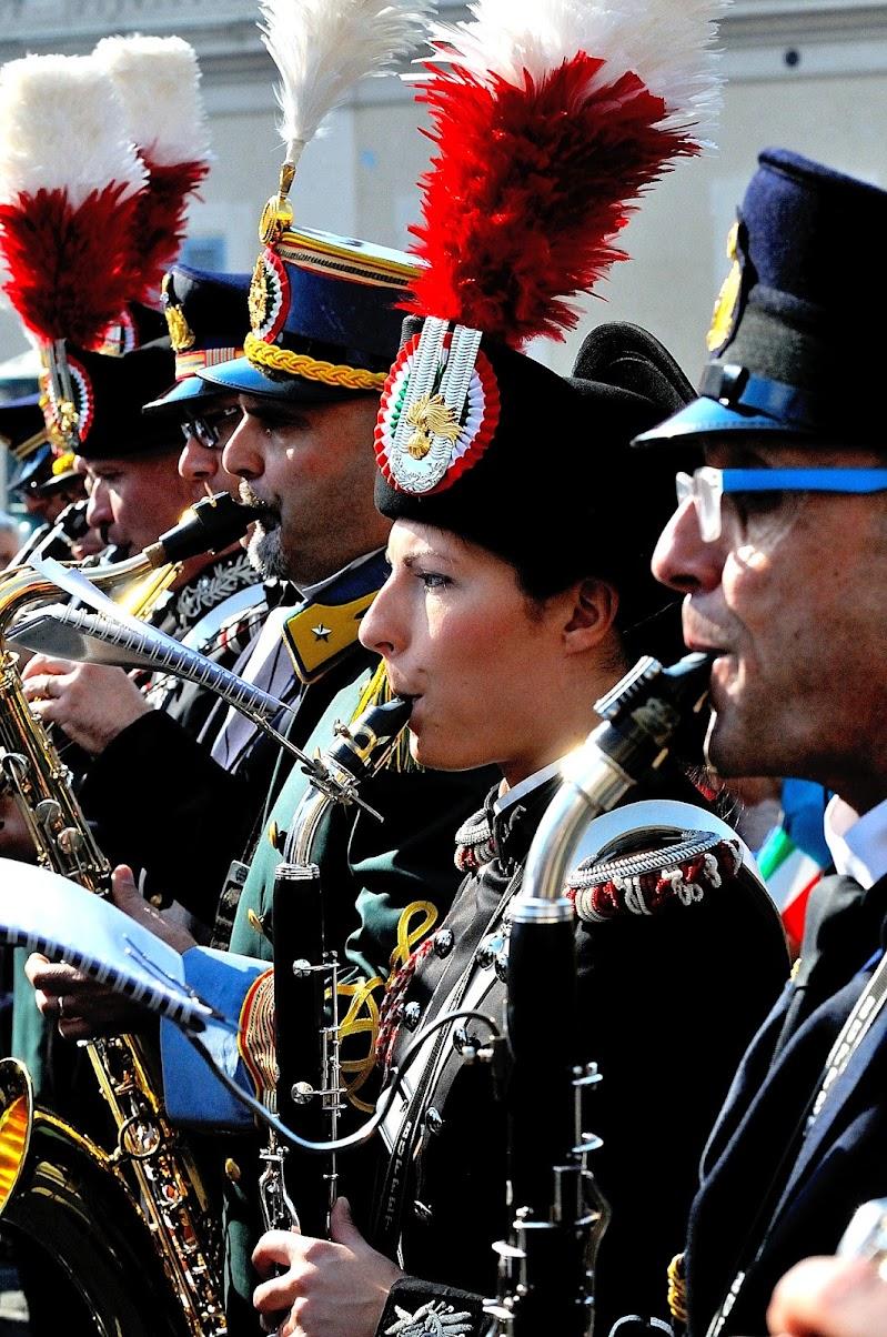 La Carabiniera Musicista di teolla