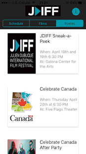 Julien Dubuque Film Festival- screenshot thumbnail