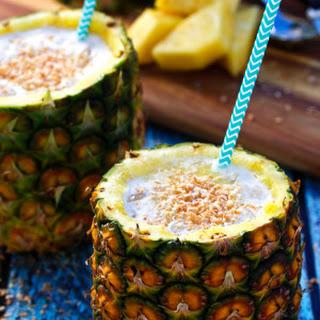 Fresh Piña Colada Cocktail
