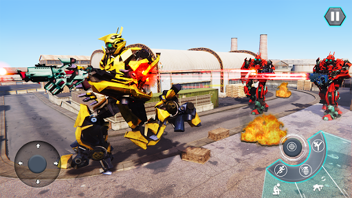 us army robot fps shooting strike game 3d 2020 screenshot 2