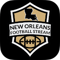 New Orleans Football STREAM+ icon