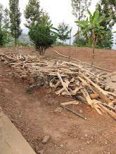 Photo: Ntobwe Orphanage Kitchen - wood supply