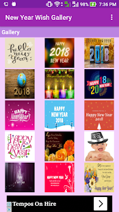 NewYear Wish Wallpaper Gallery - náhled