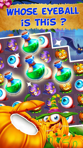 Halloween Witch - Fruit Puzzle 1.0.20 screenshots 3