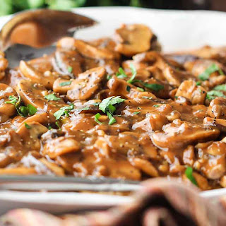 Authentic Chicken Marsala.