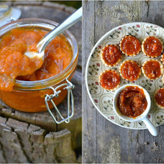Apricot & Vanilla Jam + Jam Tarts (A guest post at SimplyVegetarian777)