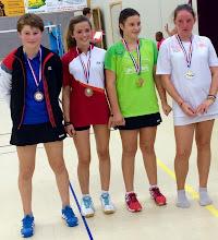 Photo: Simple Dames Minimes Médaille de Bronze: Camille Knittel