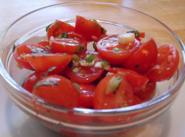 Cherry Tomato Salad Recipe