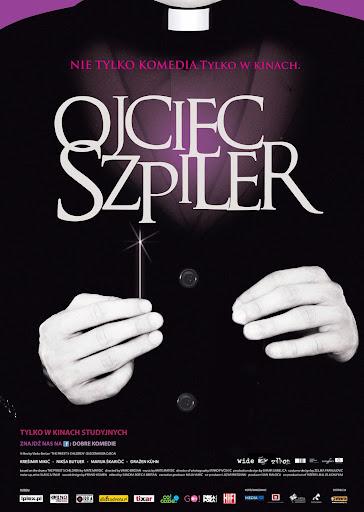 Polski plakat filmu 'Ojciec Szpiler'