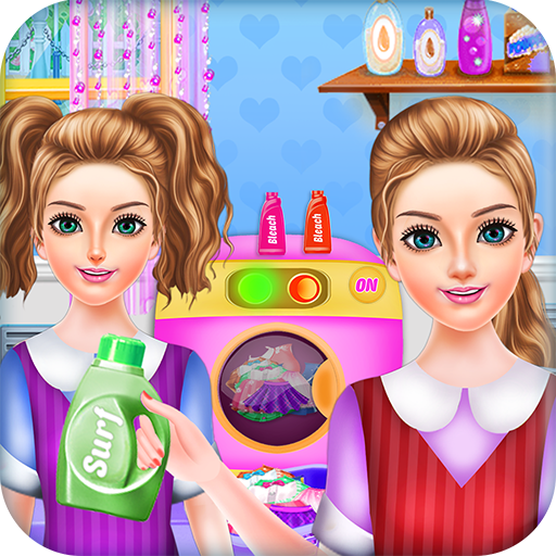 School Girls Weekend Home Washing Laundry Games Android APK Download Free By UGoGo Entertainment
