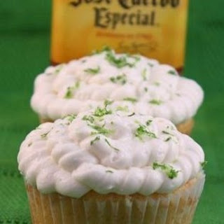 Margarita Lime Curd Filled Cupcakes