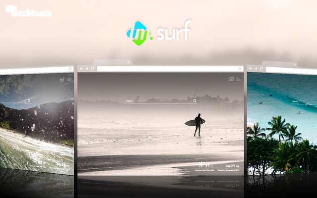 Surfing Wallpaper Waves Background New Tab