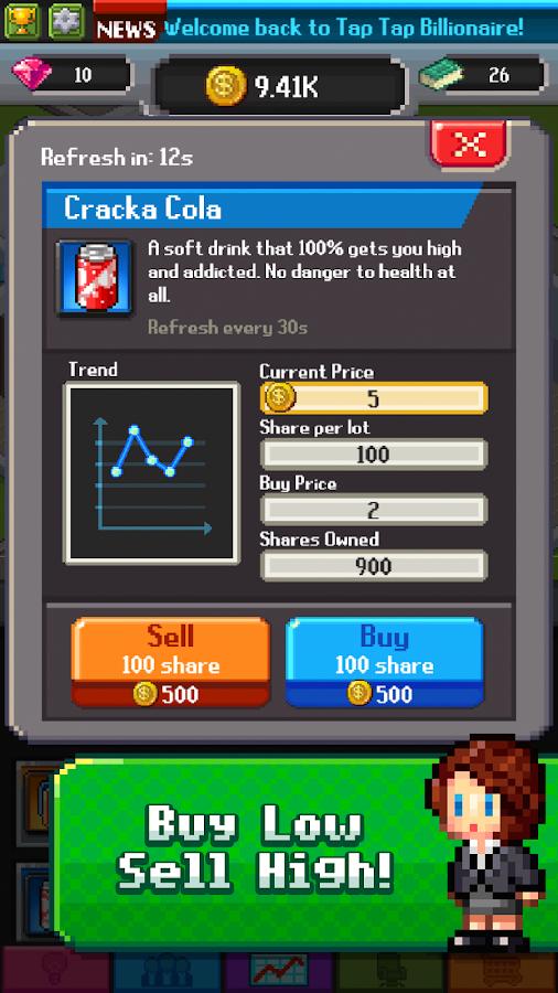 Tap Tap Trillionaire – Business Simulator- screenshot