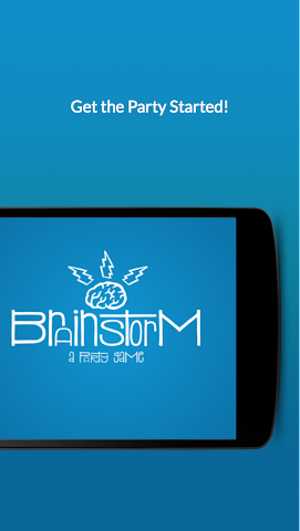 android Brainstorm - a party game Screenshot 3