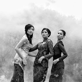 3 by Ayah Adit Qunyit - People Group/Corporate ( pwcprofiles-dq, , woman, b&w, portrait, person )