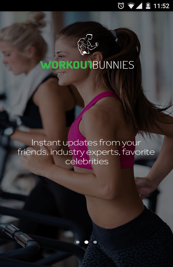Workout Bunnies- screenshot