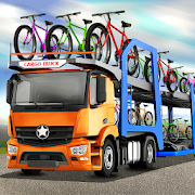Bicycle Transport Truck Drive 2018