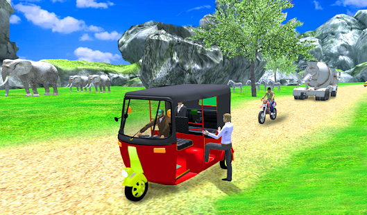 Game Uphill Tuk Tuk Rickshaw Game APK for Windows Phone