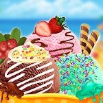 Cooking ice cream maker: Cone Icon