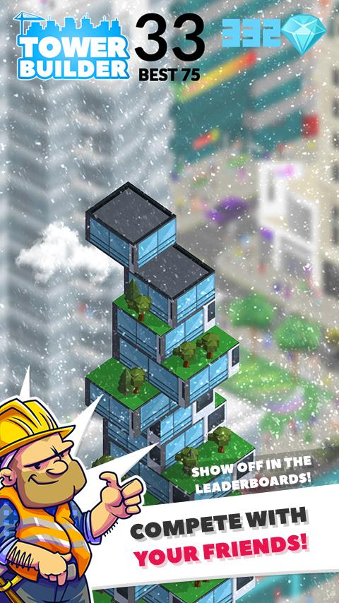 TOWER BUILDER: BUILD IT– captură de ecran