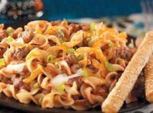 Spanish Noodle Supper Recipe