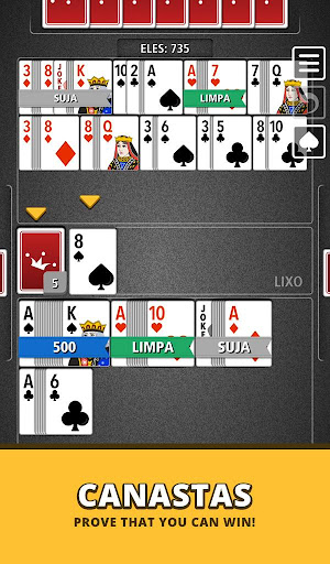 Buraco Canasta Jogatina: Card Games For Free apkpoly screenshots 23