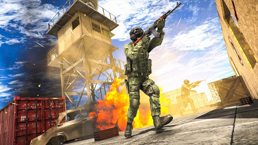 Encounter Strike:Real Commando Secret Mission 2020 modavailable screenshots 4