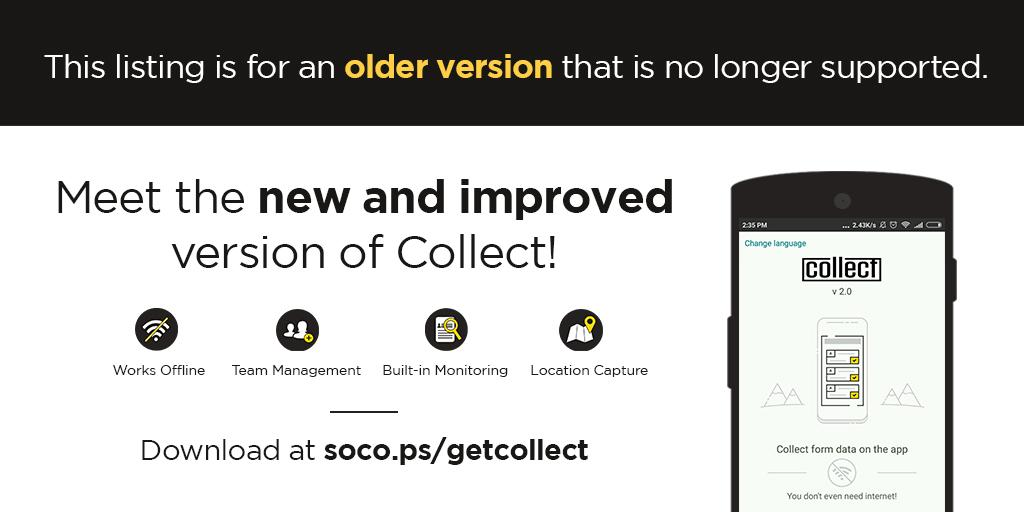 Collect (Deprecated)- screenshot