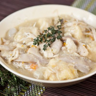 Easy Crockpot Chicken and Dumplings
