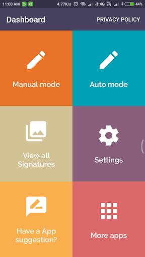 Signature Creator 6.0.2 screenshots 1