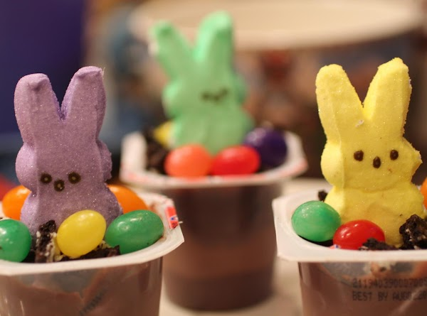 Easter Pudding Cups Recipe