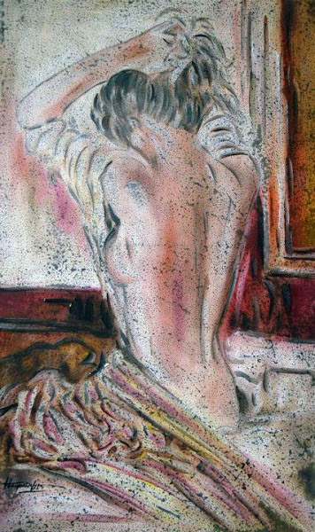 Photo: Paintings by Antonio Guimaraes Jose Santos