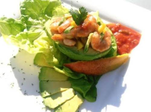 "Click Here for Recipe: Acapulco Avocado Salad ""Made this salad the day..."