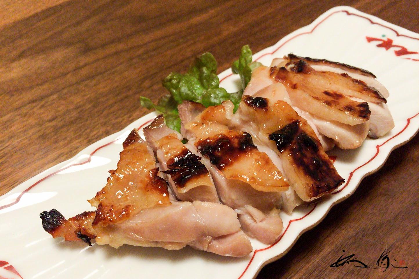 知床鶏の西京焼き