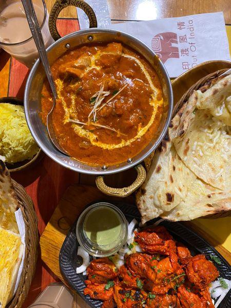 印渡風情印度餐廳師大店